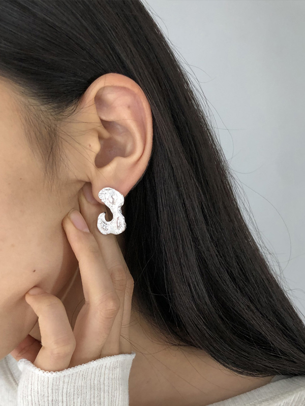 2020 Spring Collection TODAYFUL トゥデイフル Antique Curve Pierce (Silver925) 12010905
