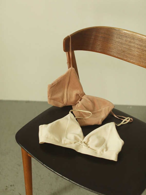2020 Spring Collection TODAYFUL トゥデイフル Velour Bra Top 12011022