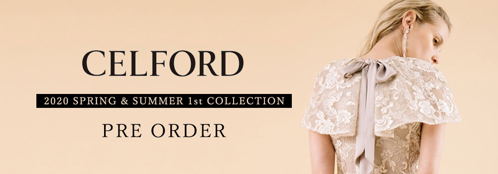 CELFORD 1st 20ss COLLECTION