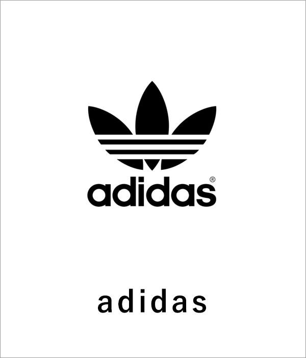 ブランドロゴ adidas