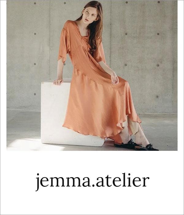 ブランドロゴ jemma.atelier
