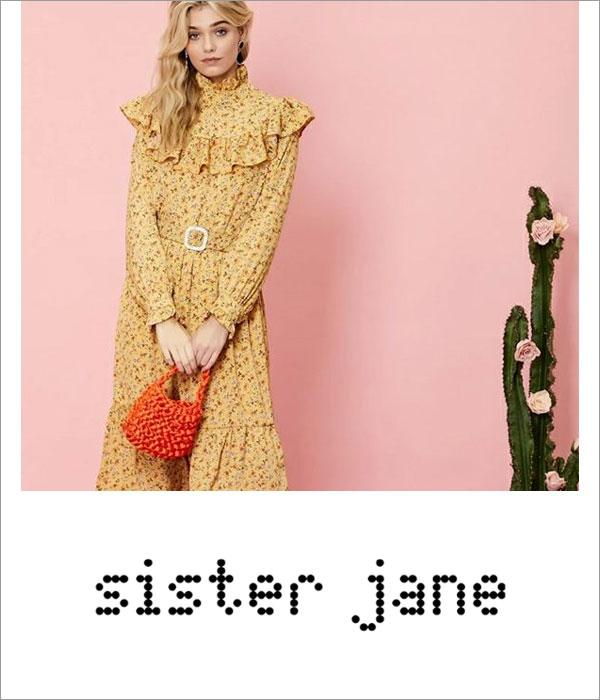 ブランドロゴ sister jane