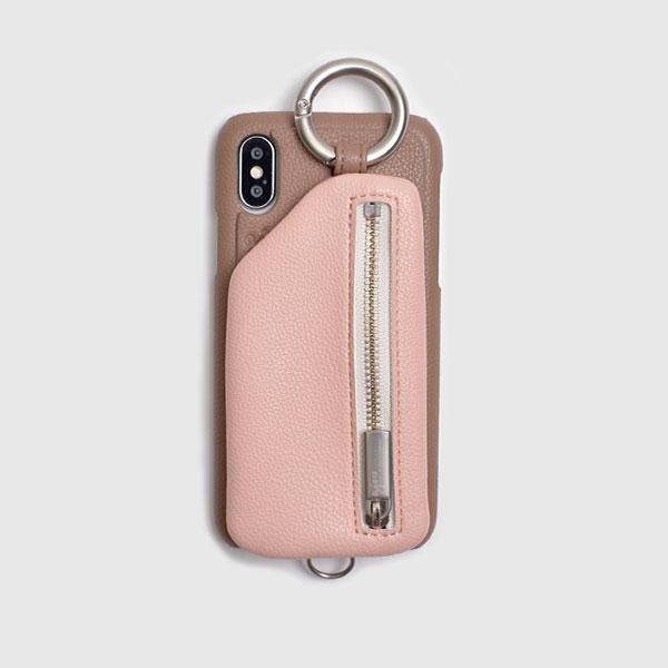 ベージュ ピンク beige×pink