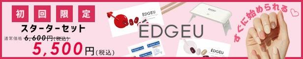 EDGEU エッジユー ネイルシート スターター キャンペーン