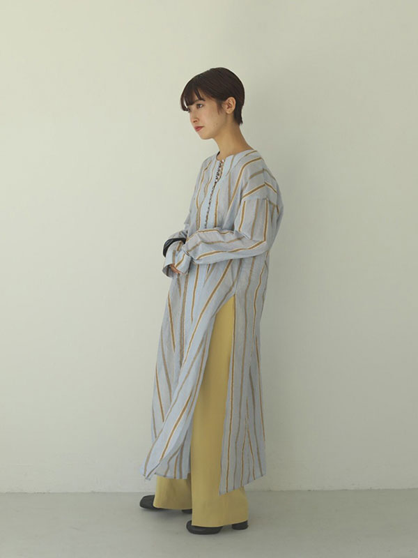 TODAYFUL トゥデイフル Sheer Stripe Gown 12010404