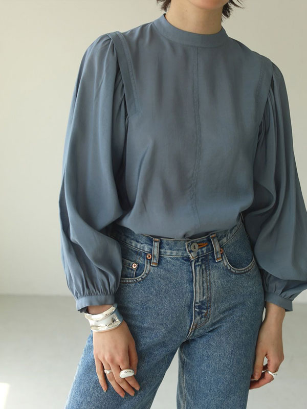 2020 Fall Collection TODAYFUL 8月中旬頃当店入荷予定 Gather Sleeve Blouse 12020405