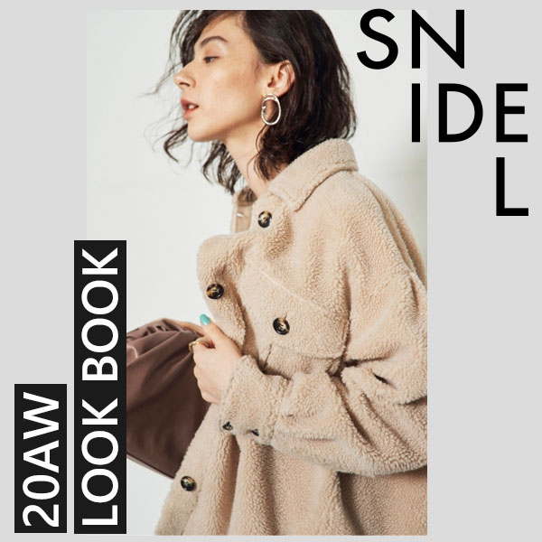 SNIDEL 20AW LOOK BOOK