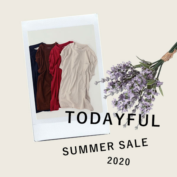 TODAYFUL SALE 20 SUMMER