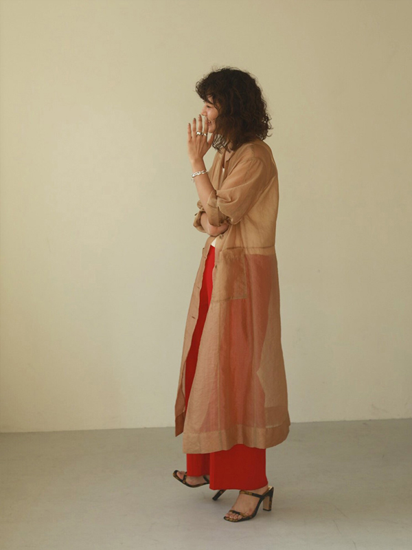 2020 Summer Collection TODAYFUL Sheer Shirts Gown 12010006