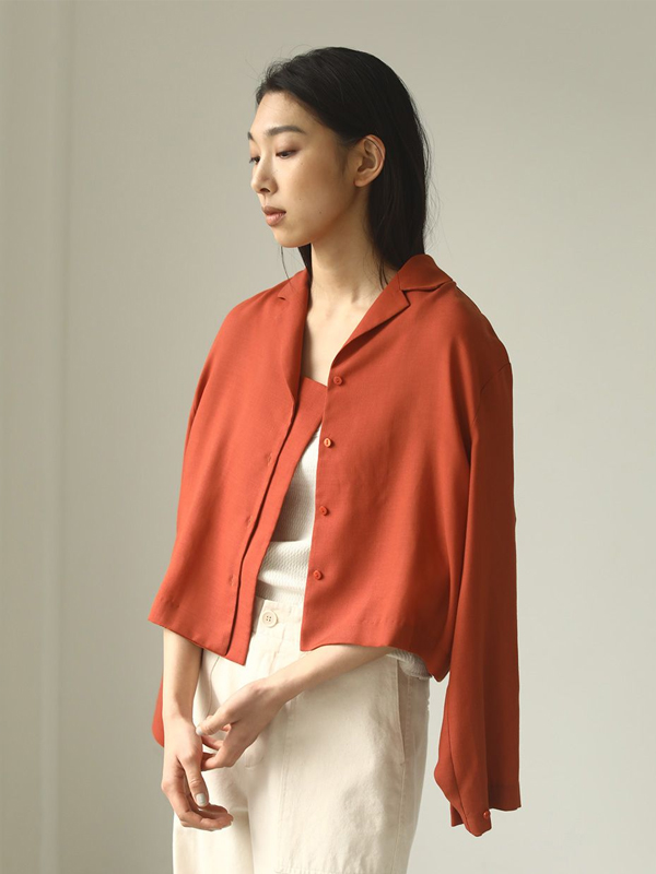 2020 Summer Collection TODAYFUL トゥデイフル Twill Openneck Shirts 12010424