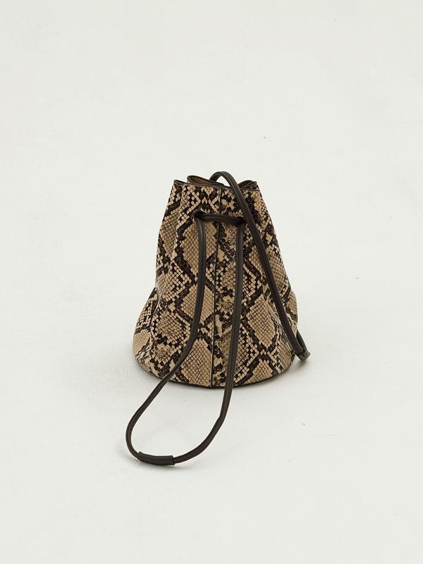 2020 Spring Collection TODAYFUL トゥデイフル Python Bucket Bag 12011034