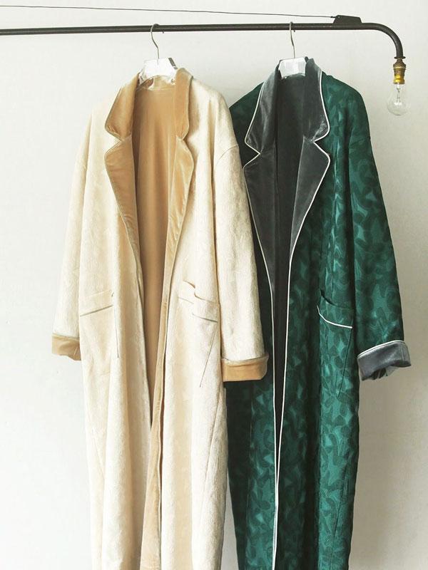 TODAYFUL Satin Jacquard Gown 12020007