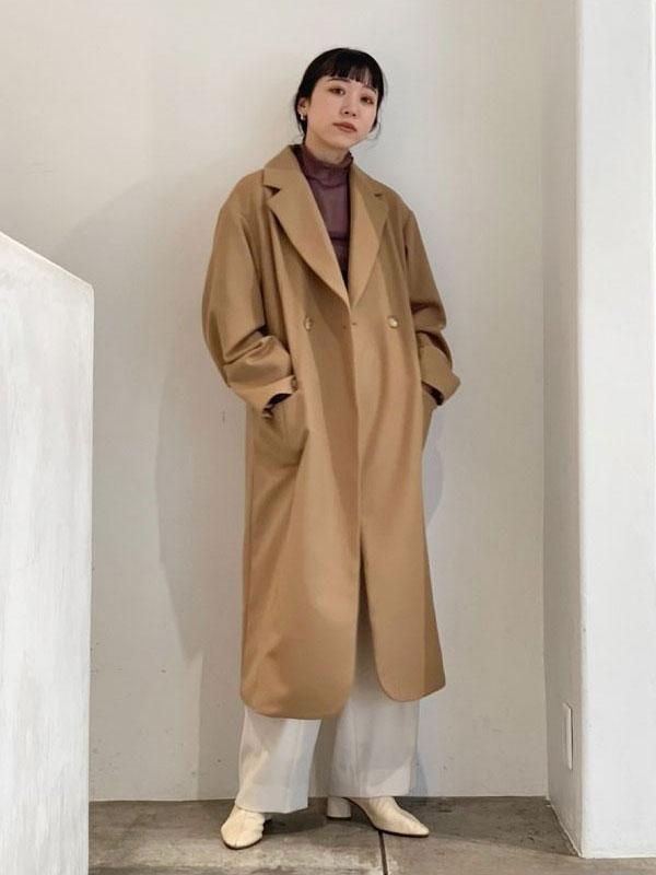 TODAYFUL Wool Twill Coat 12020008