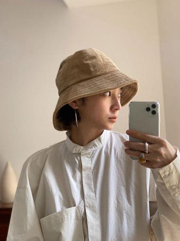 TODAYFUL トゥデイフル Corduroy Bucket Hat 12021043