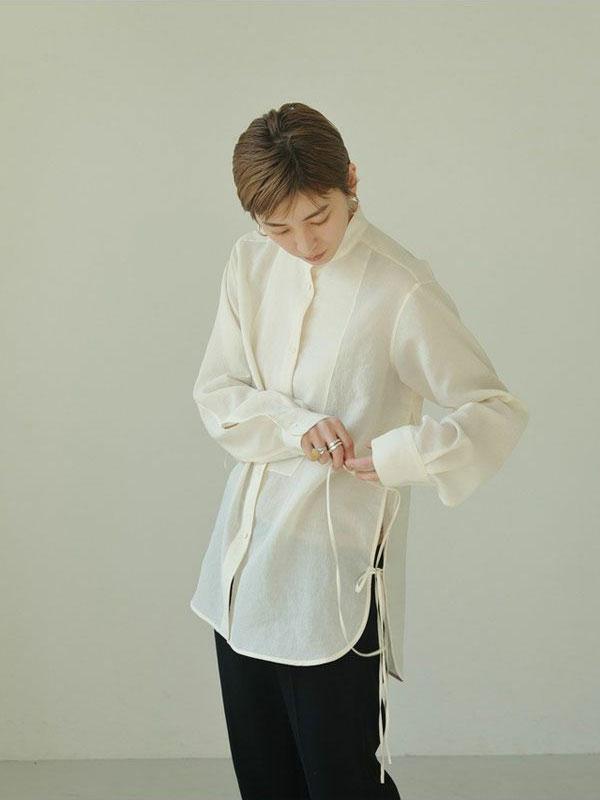 TODAYFUL 21年夏コレクション スラブドレスシャツ