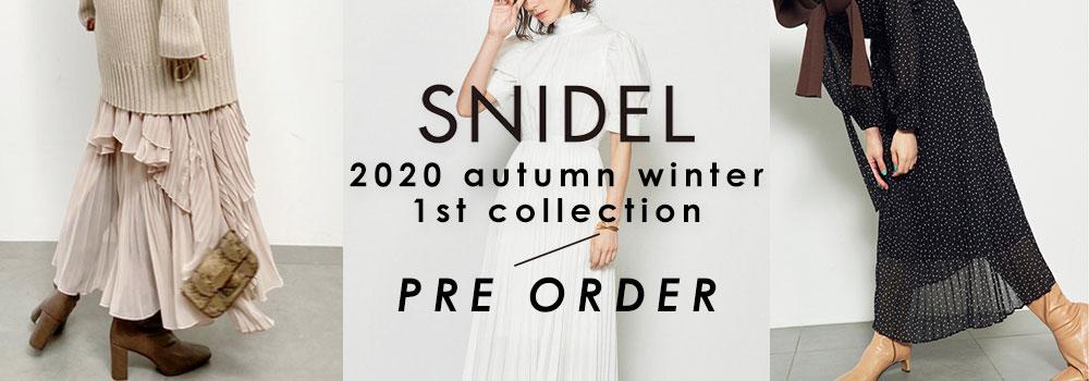 SNIDEL 20AW 1st