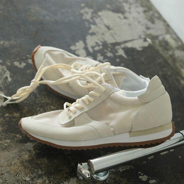 TODAYFUL トゥデイフル レザー メッシュ スニーカー Leather x Mesh Sneakers 12111001