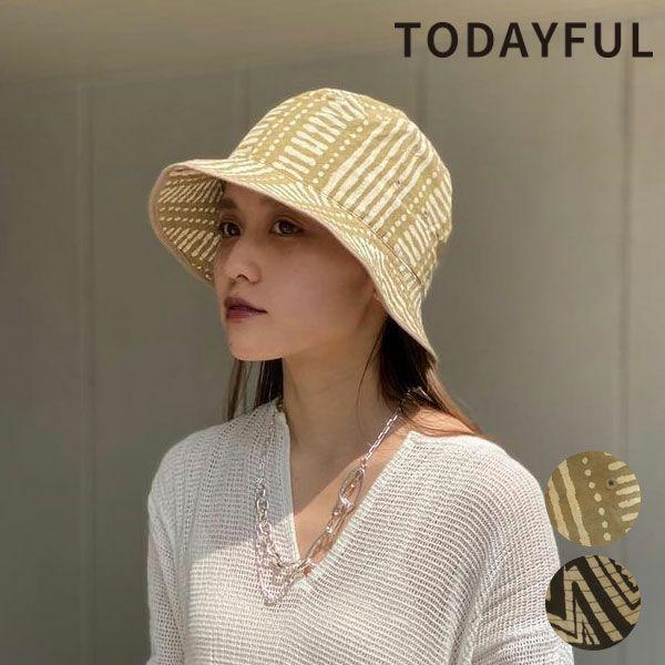 TODAYFUL トゥデイフル パターン バケット ハット Pattern Bucket Hat 12111030