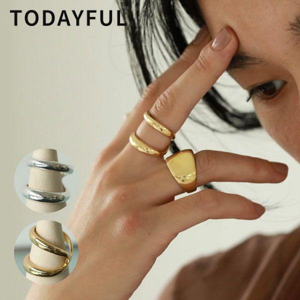 TODAYFUL トゥデイフル ダブル ライン リング Double Line Ring 12110912