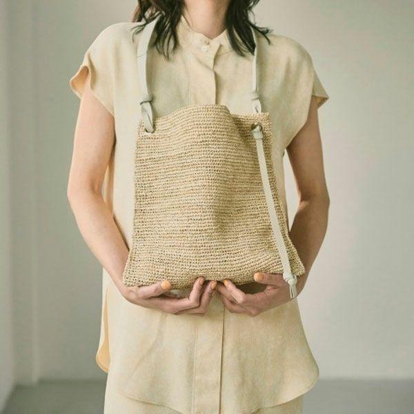 トゥデイフル ラフィア ショウルダー バッグ Raffia Shoulder Bag (2way) 12111043