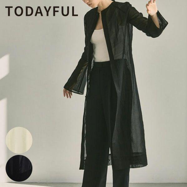 TODAYFUL トゥデイフル 2ウェイ シアー ドレス 2way Sheer Dress 12110322