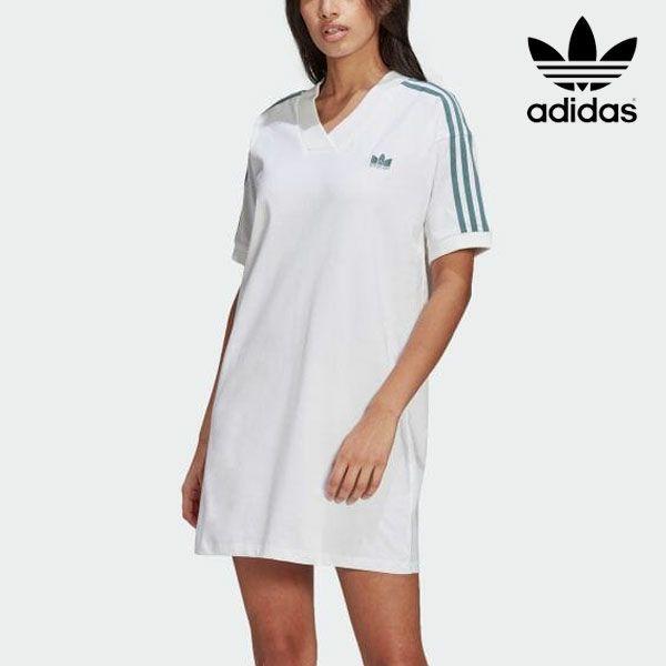 adidas originals アディダスオリジナルス アディカラー 3D トレフォイル Tシャツワンピース 21566