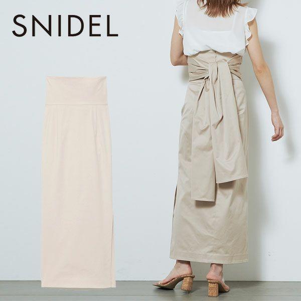 SNIDEL スナイデル スリットペンシルスカート swfs212084