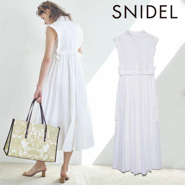 SNIDEL スナイデル ベストレイヤードワンピース swfo212020