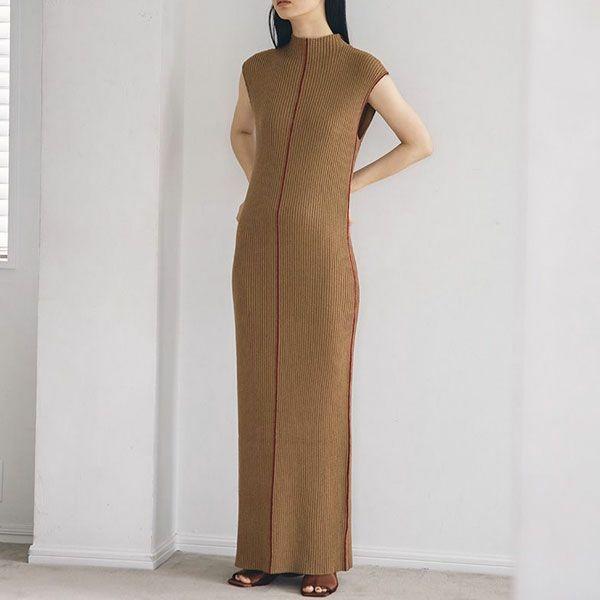 TODAYFUL トゥデイフル スティッチ ニット ドレス Stitch Knit Dress 12120316