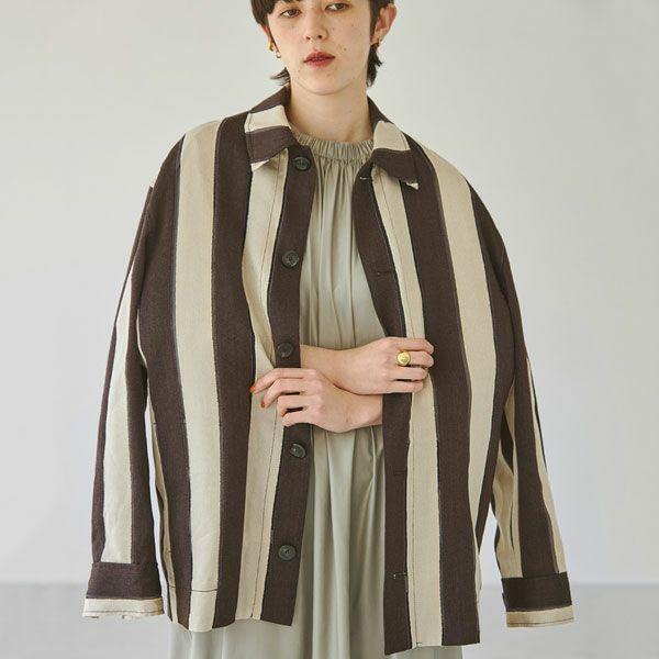 TODAYFUL トゥデイフル ジャガード ストライプ ジャケット Jacquard Stripe Jacket 12120104
