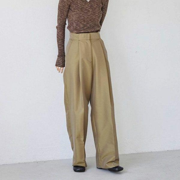 TODAYFUL トゥデイフル シャンブレー トゥイル トラウザーズ Chambray Twill Trousers 12120712
