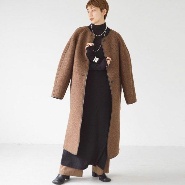 TODAYFUL トゥデイフル Wool Jersey Coat  12120010