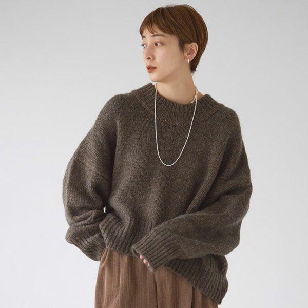 TODAYFUL トゥデイフル Wool Roundhem Knit  12120521