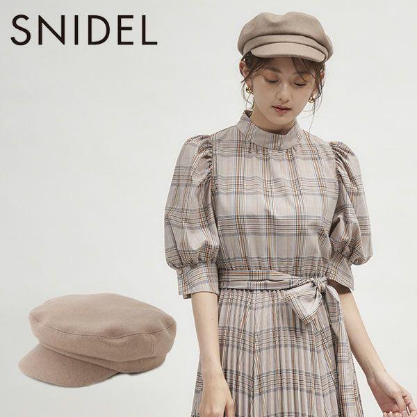 SNIDEL スナイデル バリエキャスケット swgh214635