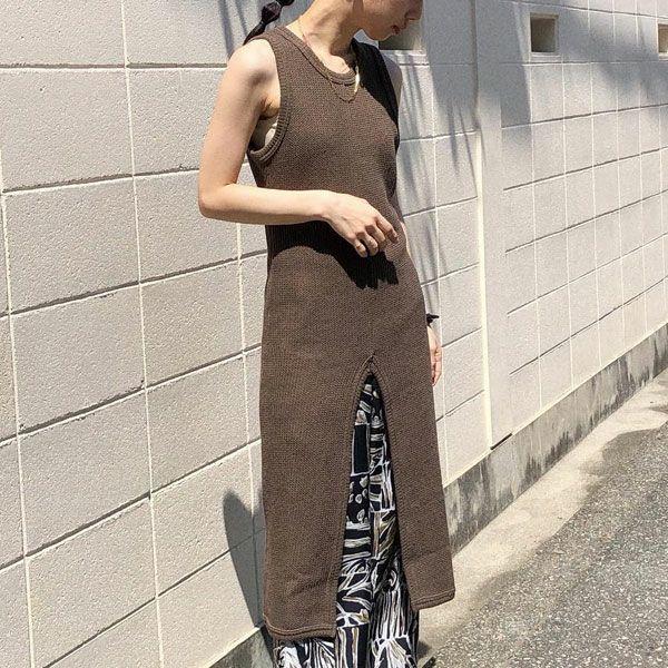 TODAYFUL トゥデイフル ラッセル スリット ドレス Russell Slit Dress 12120302