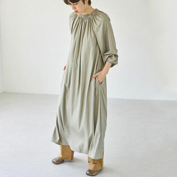 TODAYFUL トゥデイフル ネック ギャザー ドレス Neck Gather Dress 12120303