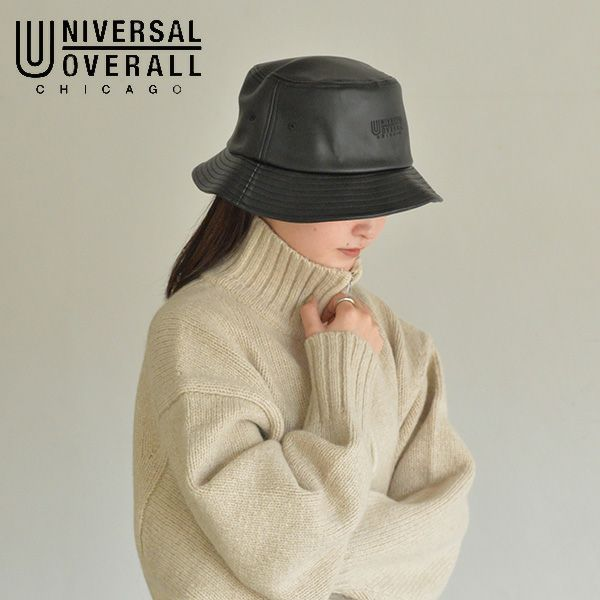 UNIVERSAL OVERALL ユニバーサルオーバーオール UO PU HAT dw1141